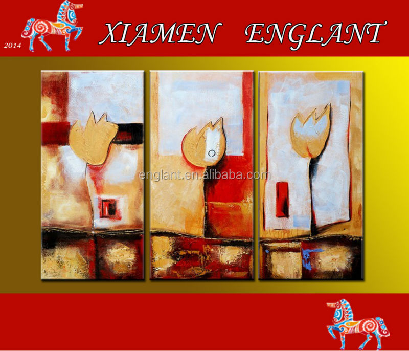 Group abstract handmade oil paintings wanted on canvas