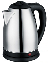 Baidu Factory Cheapest Price 1.8L Instant Heating Polished Stainless Steel Electric Kettle
