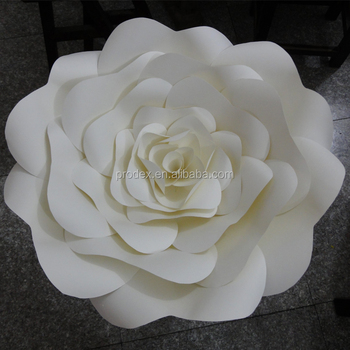 Handmake high quality giant paper flower backdrop buy plastic handmake high quality giant paper flower backdrop mightylinksfo