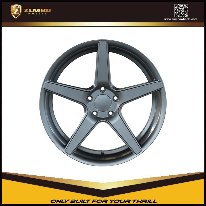 "ZUMBO A0015 Matt Gray 20X8.5/20x10 Inch Car 20"" Aluminum Alloy Wheel alloy rims"