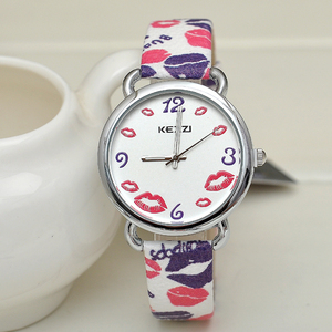 Women Popular Brand Watches Vintage KEZZI Logo Waterproof Ladies Wristwatch