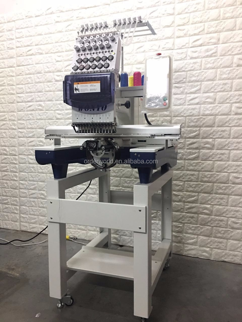 High Quality Brother Type smalll Home Computerized Embroidery Machine for Sale