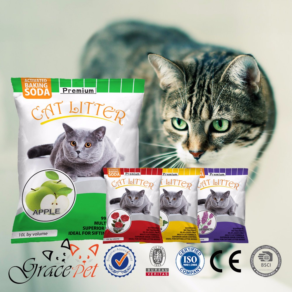 Ball shape special kitty cat litter hot sale