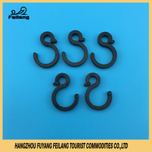 New S-shaped Injection Tent Plastic PP Safety Connector Hanging Hanger Hooks And Clips Camping