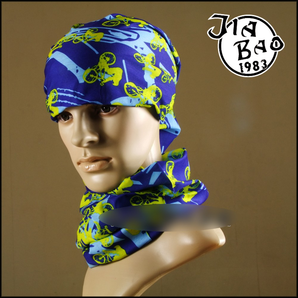 Printed style custom made hairl accessories stretch headband bandana elastic