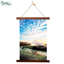 Framed canvas prints wall hanging nature landscape picture