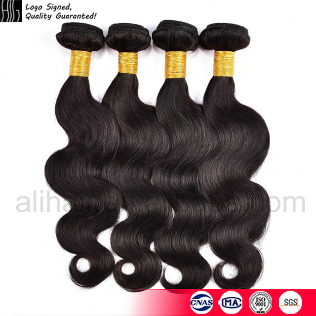 1pcs raw human hair 8 to 32inch 8a 100 remy human hair extension virgin Peruvian hair bundle wave