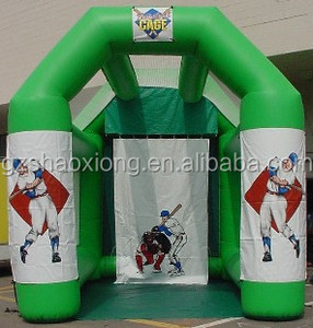 Cheap inflatable golf speed cage, inflatable golf hitting cage