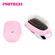 PRITECH Compact Ionic Seamless Comb Teeth Teasing Hair Massage Brush For Women