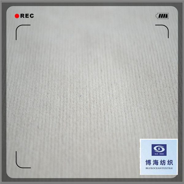 grey corduroy fabric with a good quality