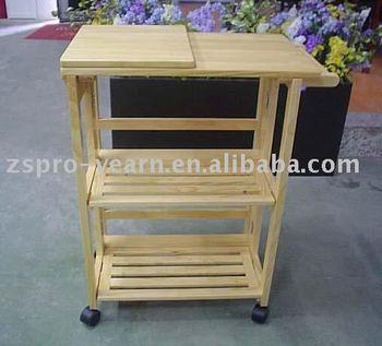 Modern design wooden kitchen trolley with 3 tier 4 wheels 1 handle modern design wooden kitchen trolley with 3 tier 4 wheels 1 handle foldable table board for watchthetrailerfo