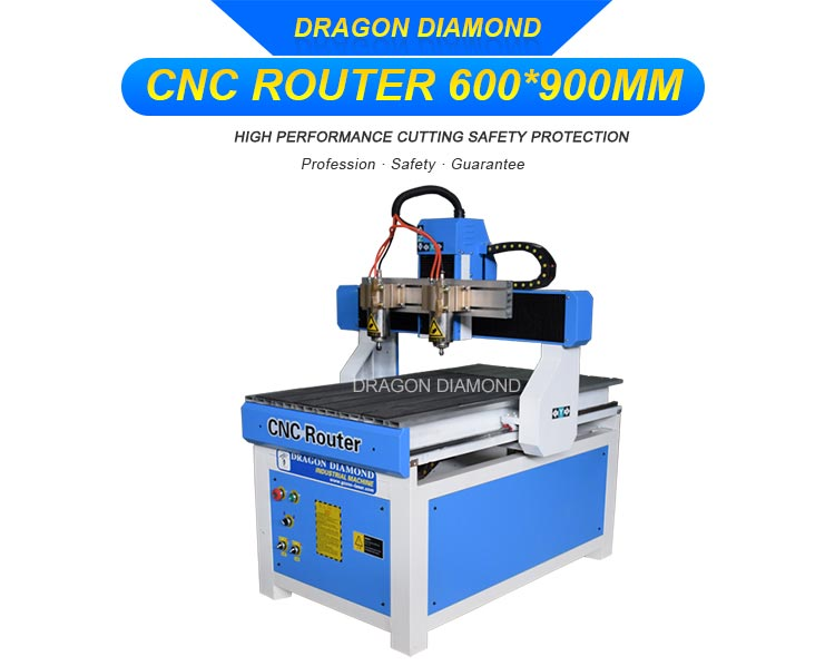Double Head CNC Machine
