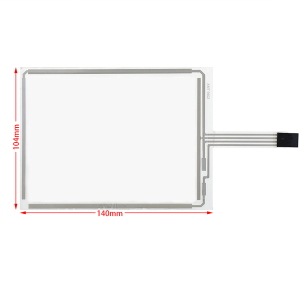 Industrial 5.7 inch 4 wire Resistive AMT 9502 Touch Screen Glass