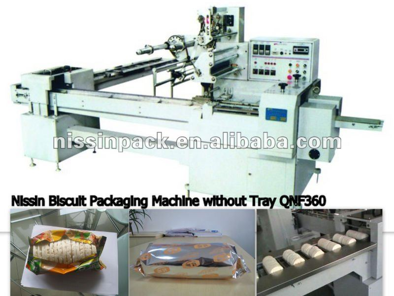 Automatic biscuit packing Machinery