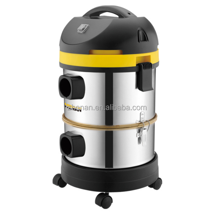 ash and wet&dry vacuum cleaner blowing