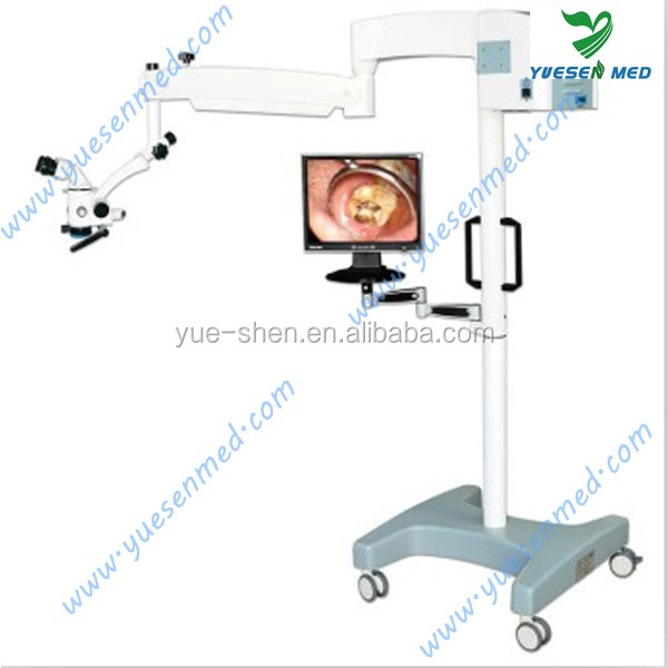 Five-speed drum zoom magnification operation dental surgery microscope