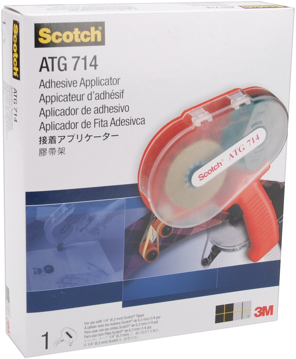 Scotch Atg714 Adhesive Applicator-For .25 Tape