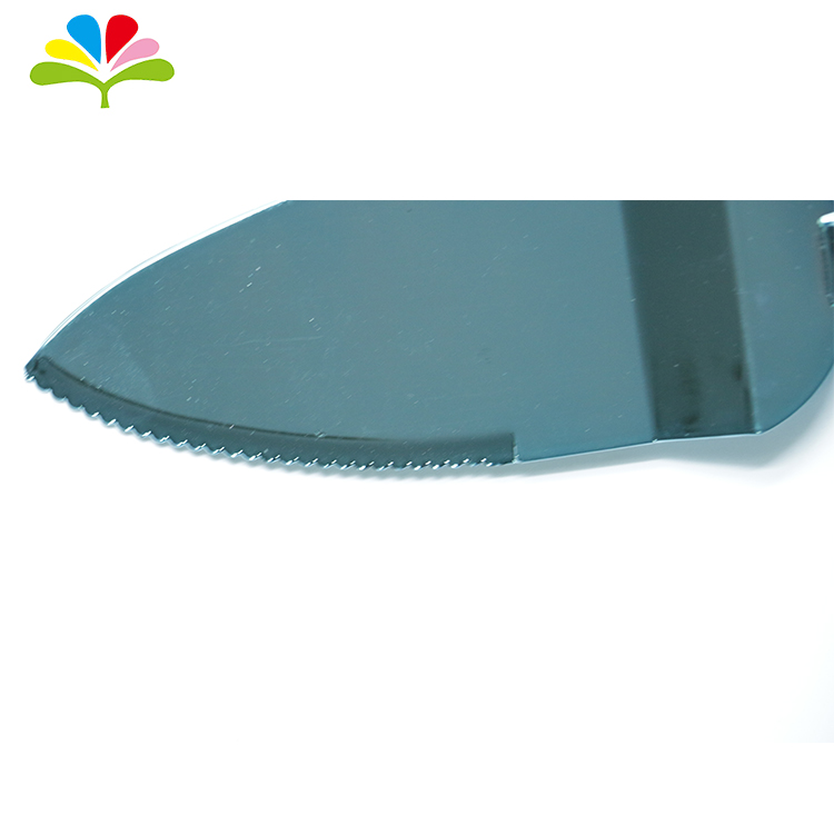 Food Safety Plastic Cake Bread Cutting Knife For Birthday Party