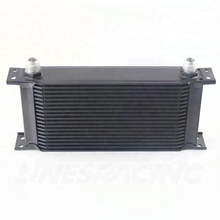 Phổ intercooler 19 Row AN10 Engine Transmission Oil Cooler Black