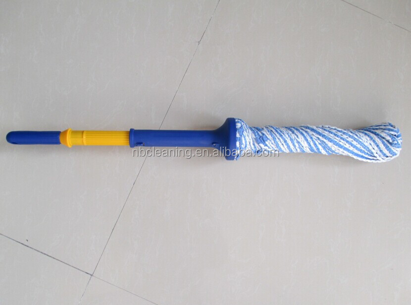 Microfiber Twist Mop with Easy Lock,Piles Out Water without Touching