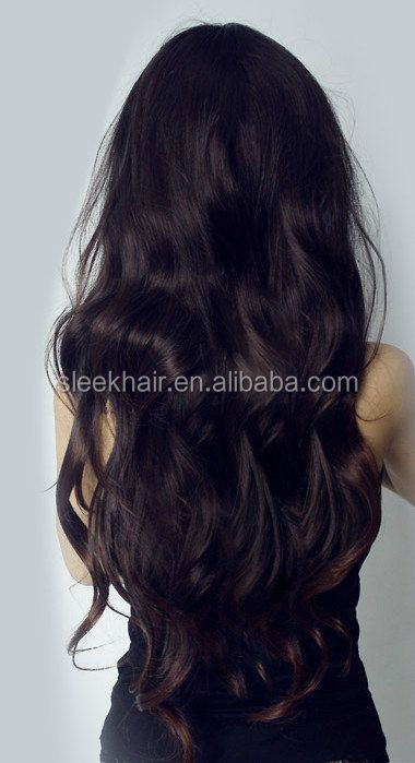 100% virgin russian wavy human hair extension accept paypal eurasian hair