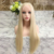 hot selling color 613 real hair for white women blonde full lace natural human hair wigs