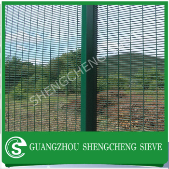 China Suppliers Anti-climb High Security Fence Powder Coated Wire ...