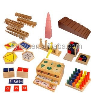 popular montessori teaching aids with 88 pcs one set