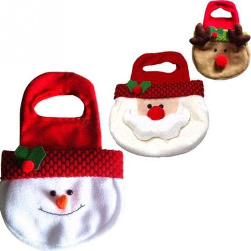 Candy Bag Children Christmas Tree Merry Christmas Decoration Home Gift Candy Bag