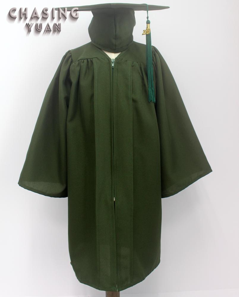 Pre Kindergarten Forest Green Graduation Gown Cap Buy Pre