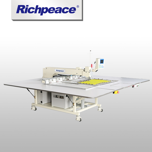 Avoid Down Leakage Richpeace Single Head Automatic Sewing Machine (Thin Material)