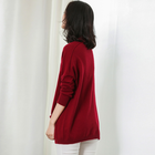 Autumn Winter Woman Long Sleeve Clothes Sweater O-Neck Knitwear Sweater