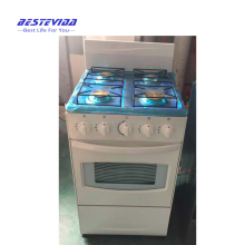Best selling free standing 4 burner gas cooker with oven, gas range with 4 burner oven, gas oven burner