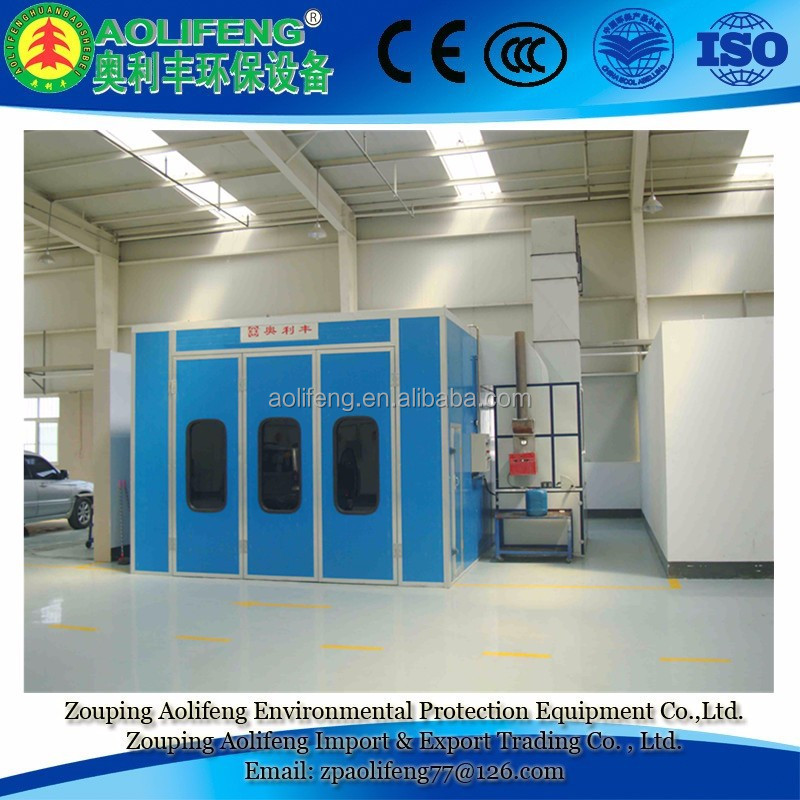 Hot Sale Car Spray Painting Booth Cabinet