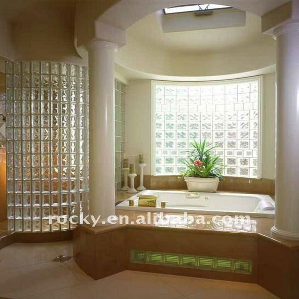 Paredes de vidrio exterior dise os arquitect nicos - Ladrillos de vidrio precio ...