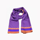 100% Silk Printed Long Scarf