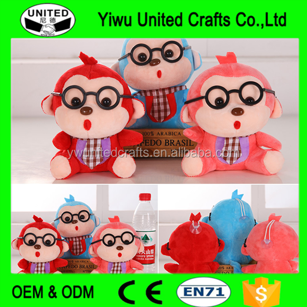 Factory direct cheap custom design made plush toys for kids