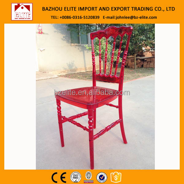 wholesale plastic chivari tiffany chair for wedding