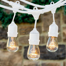 Natural Led 220V Waterproof Patio Fairy Led Globe Festoon white string lights