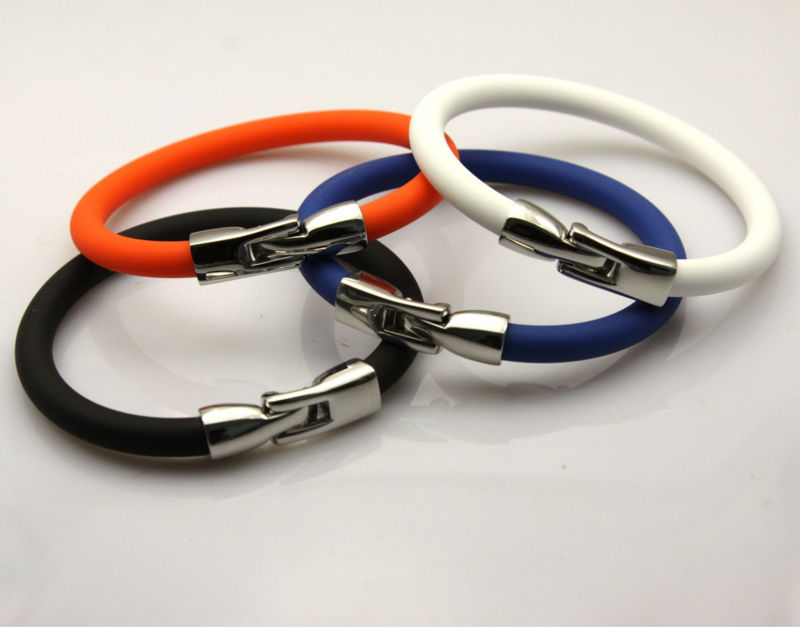 factory energy silicone negative ion cuff band