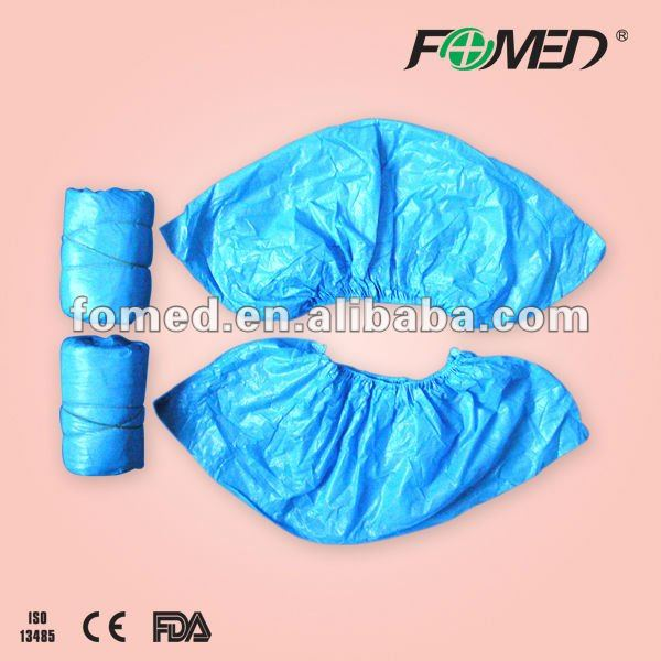disposable CPE shoe cover/disposable PE shoe cover