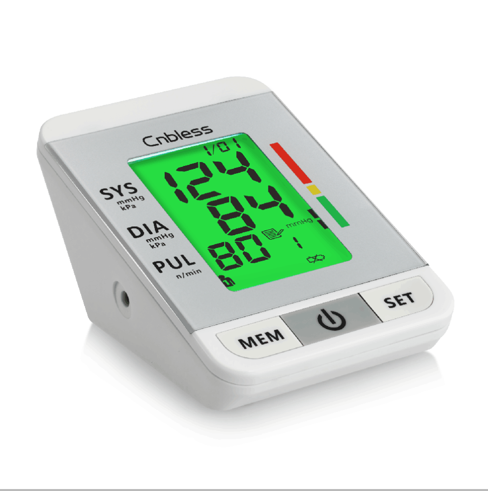 cnbless BLS-2009A digital voice talking upper arm blood pressure monitor