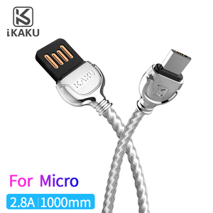 Mobile accessory usb2.0 zinc alloy weave usb cable for samsung
