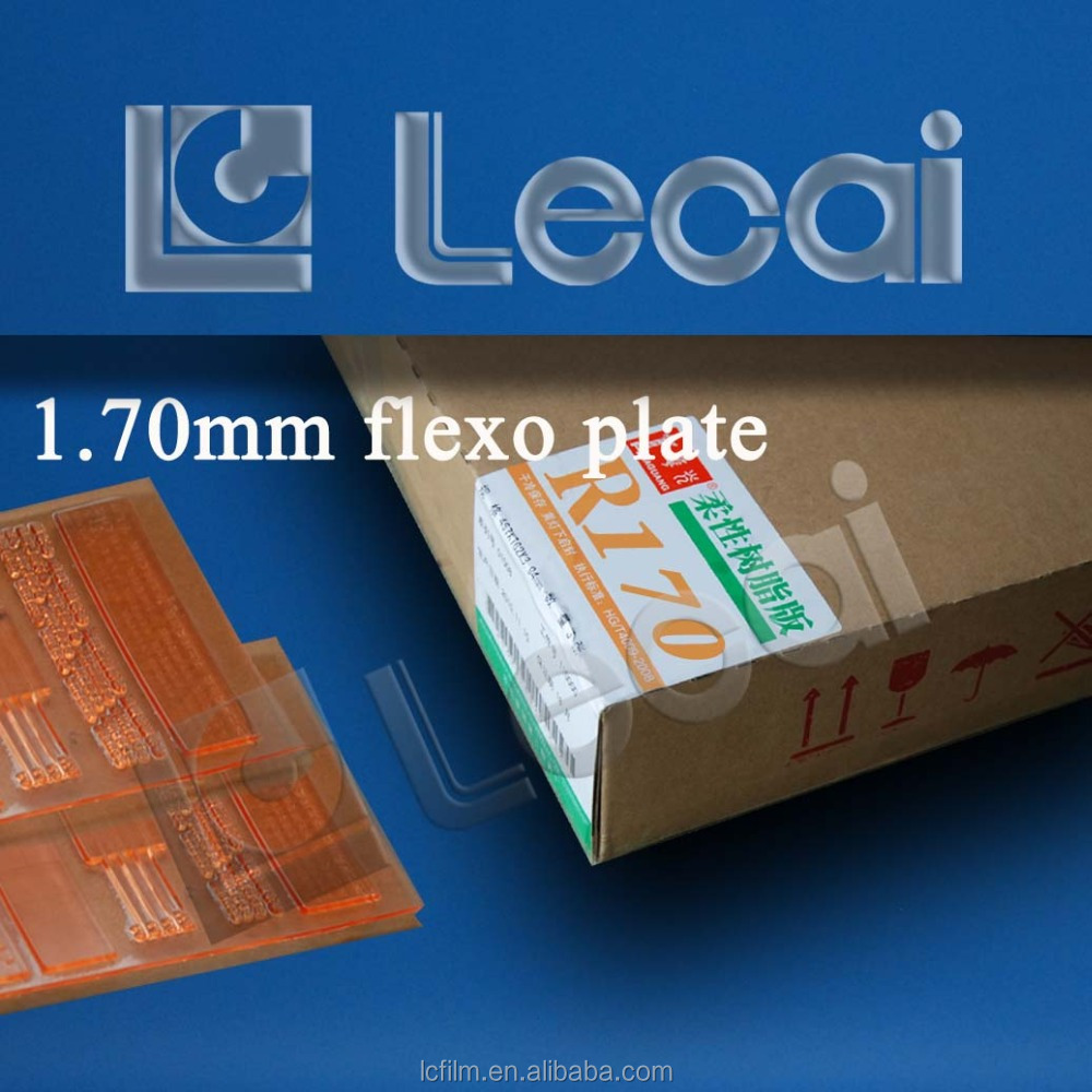 1,70 mm Photopolymer-Flexodruckplatte