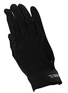 SSG Velcro Wrist Gripper Gloves 7 Black