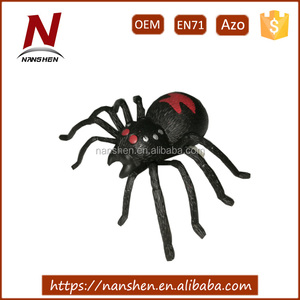 educational clockwork spider wind up toy for halloween decoration