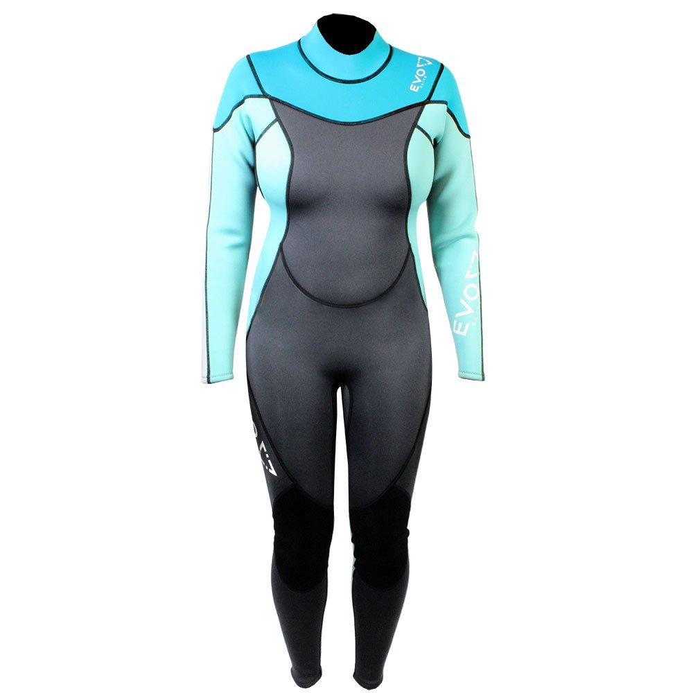 Get Quotations · EVO Elite 3mm Super-stretch Full Scuba Wetsuit (women s)  11 12 Aqua a908ac4cb