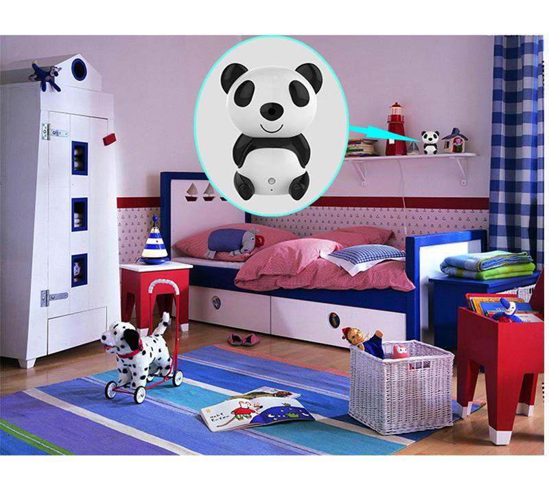 Panda Wifi Security Cctv Ip Camera Night Vision Baby