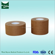 2017 Best sell medical surgical consumables Cotton durable porous elastic sports tape