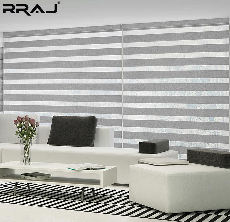 hotelkamer pelmet slaapkamer zebra gordijnen blind